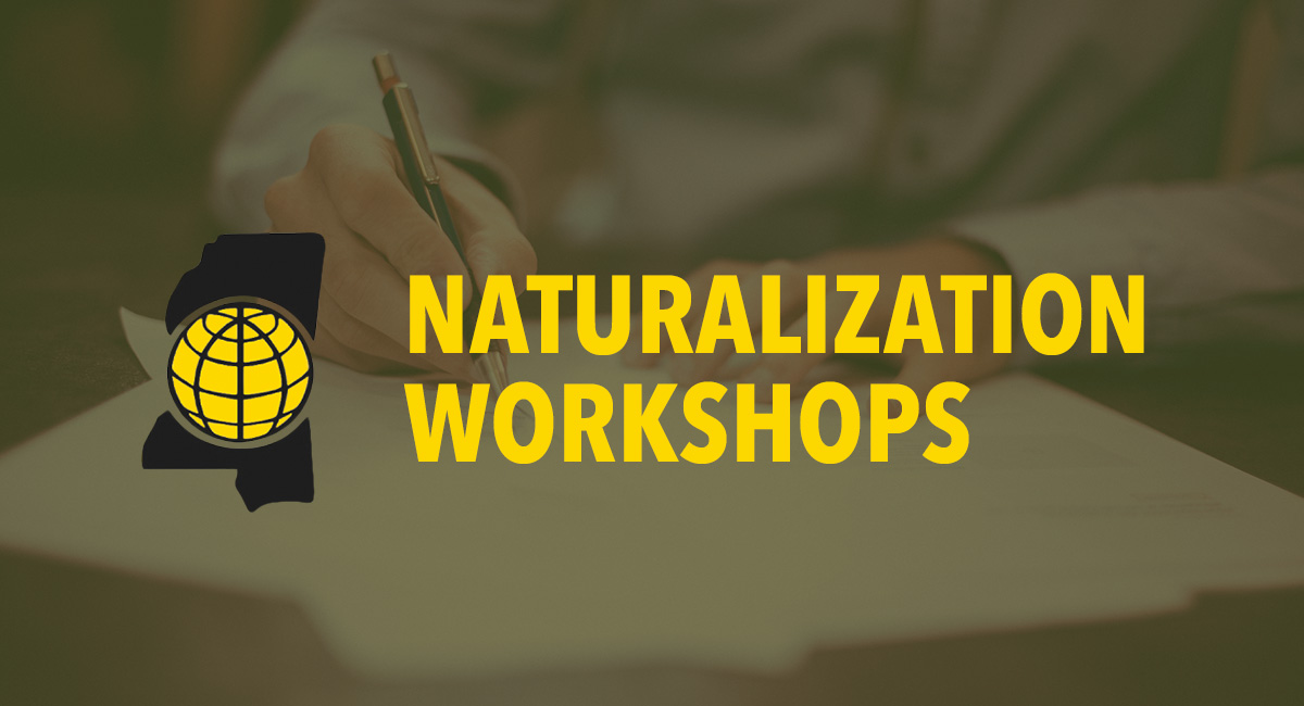 May Naturalization Workshop